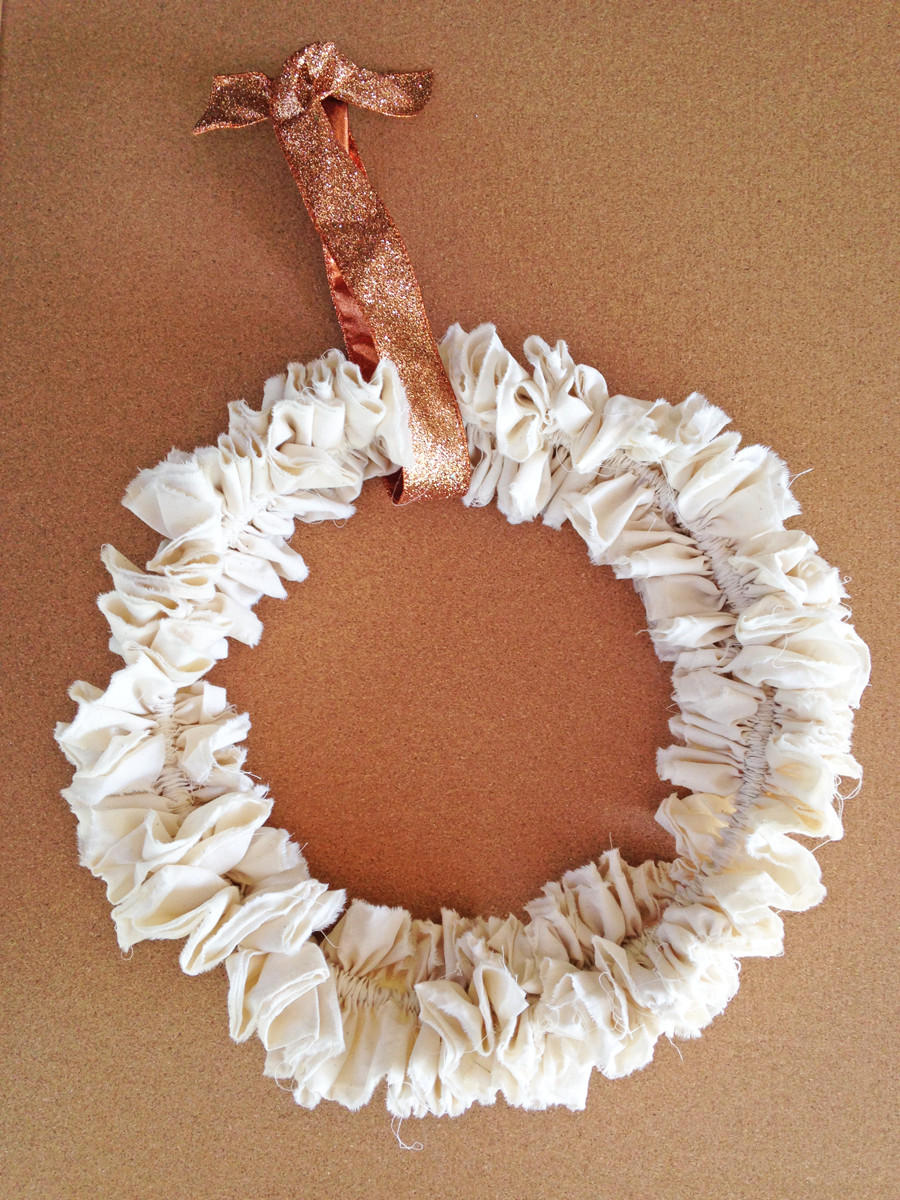 Best ideas about Shabby Chic Wreath . Save or Pin Shabby Chic Ruffled Wreath DIY Now.