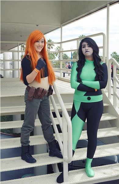 Best ideas about Shego Costume DIY . Save or Pin Kim Possible and Shego Now.