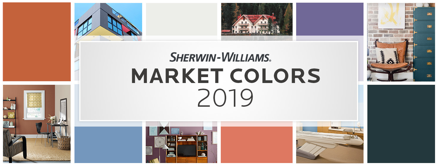 Best ideas about Sherwin Williams Paint Colors 2019 . Save or Pin Market Paint Color Collections 2019 Now.