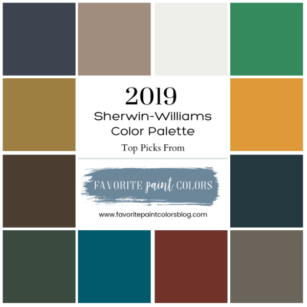 Best ideas about Sherwin Williams Paint Colors 2019 . Save or Pin Favorite 2019 Sherwin Williams Paint Colors Favorite Now.