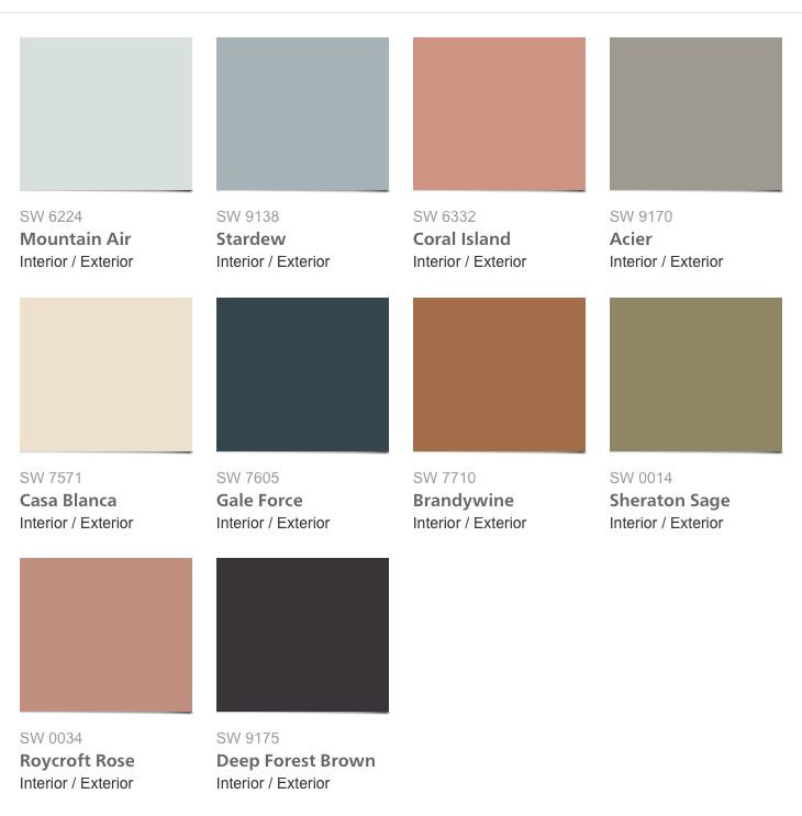 Best ideas about Sherwin Williams Paint Colors 2019 . Save or Pin Sherwin Williams Colormix 2017 collection Holistic Now.