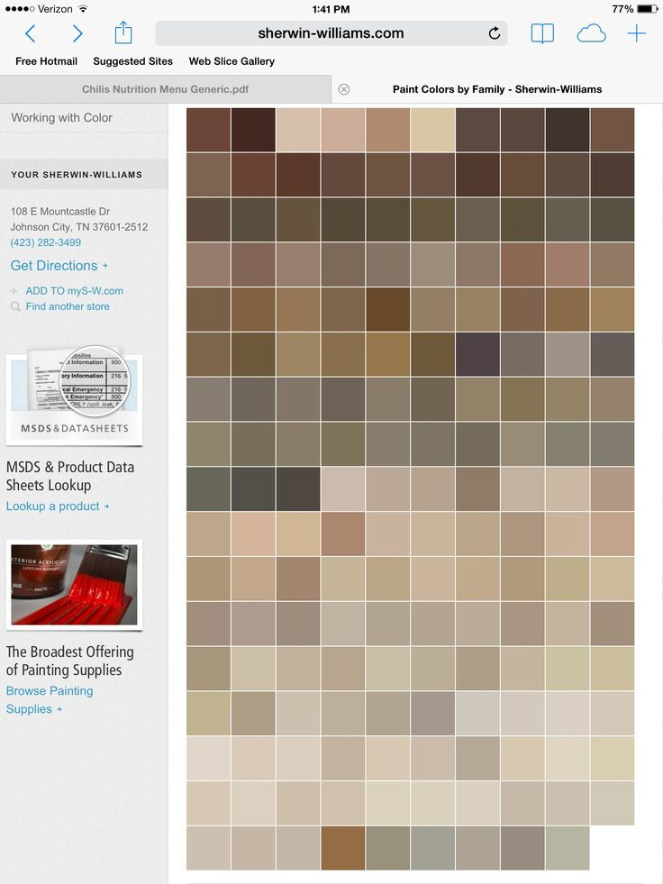 Best ideas about Sherwin-Williams Paint Colors . Save or Pin 104 best images about Warm Neutral Colors on Pinterest Now.