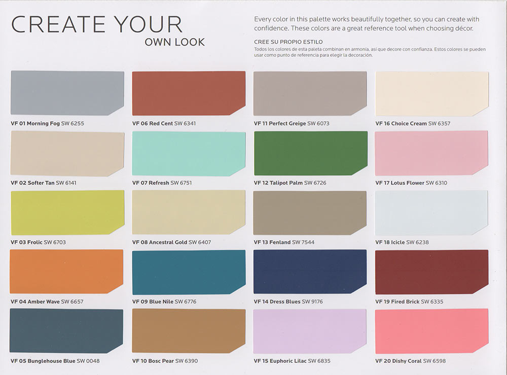 Best ideas about Sherwin-Williams Paint Colors . Save or Pin New vintage paint color collection from Sherwin Williams Now.