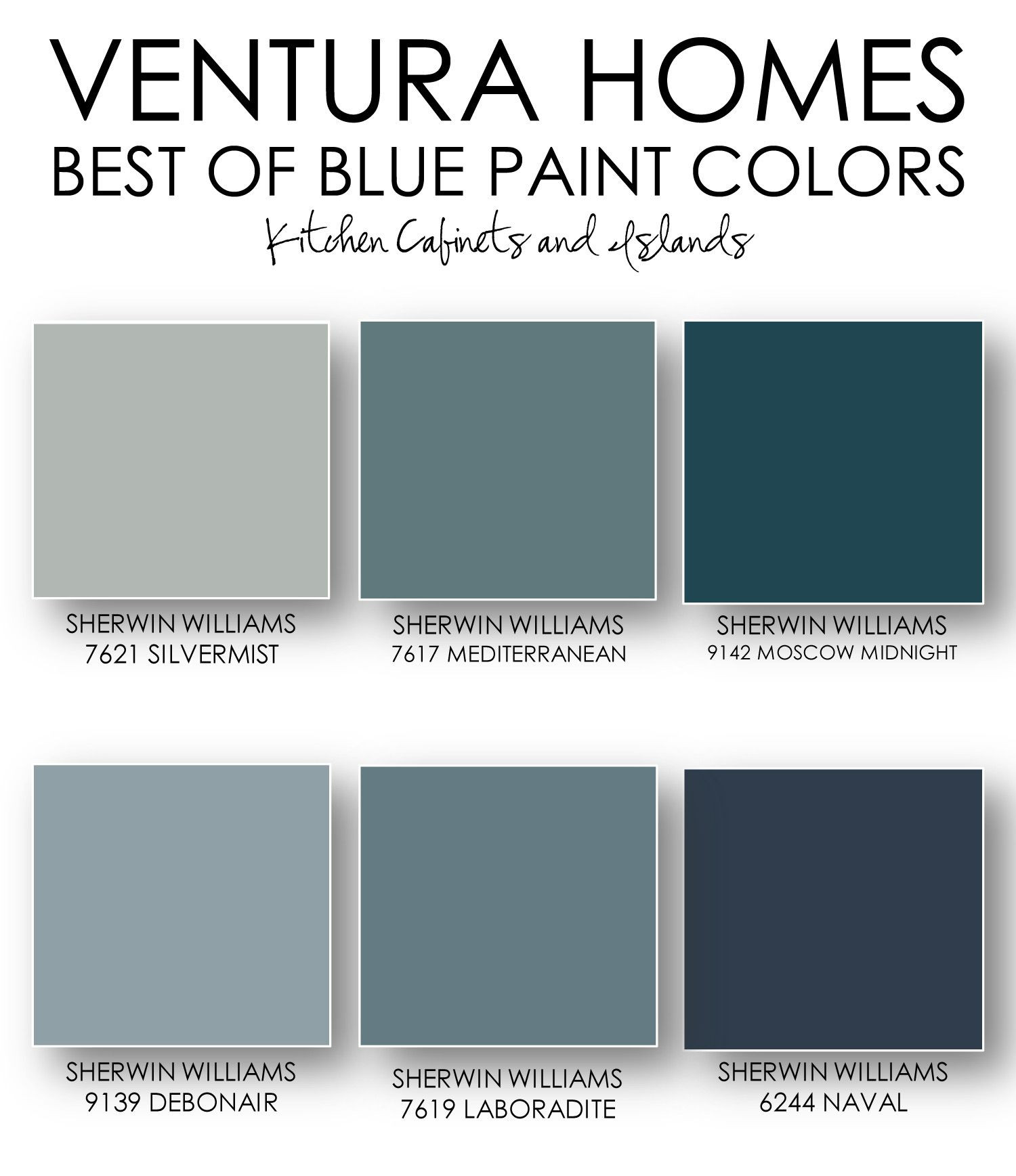 Best ideas about Sherwin-Williams Paint Colors . Save or Pin the blog Ventura Homes Best of Blue Paint Colors Now.
