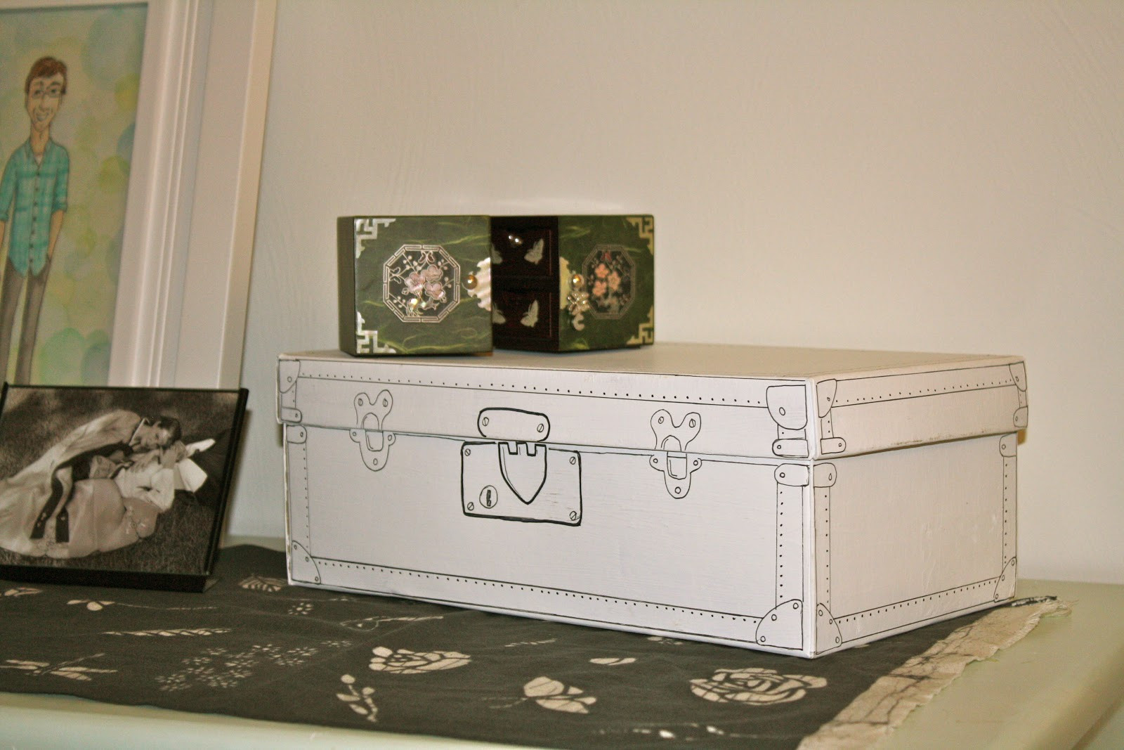 Best ideas about Shoes Box DIY . Save or Pin Joy and Whims DIY Shoe Box into a Vintage Suit Case Now.