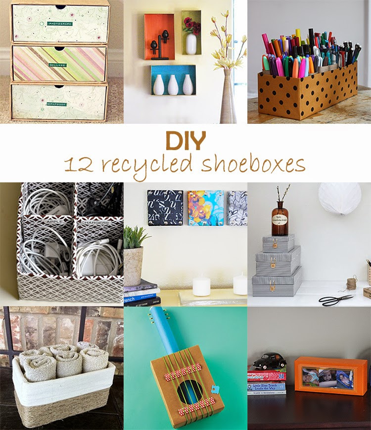 Best ideas about Shoes Box DIY . Save or Pin DIY Monday Recycled shoeboxes Ohoh deco Now.