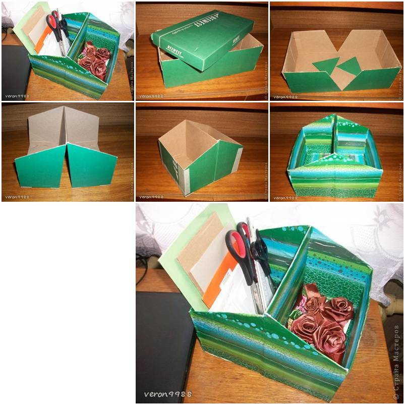 Best ideas about Shoes Box DIY . Save or Pin How to make Shoe Box Organizer step by step DIY tutorial Now.