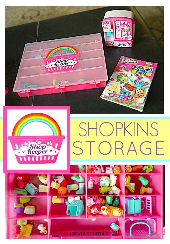 Best ideas about Shopkins Organizer DIY . Save or Pin Shopkins Organizers and Shops on Pinterest Now.