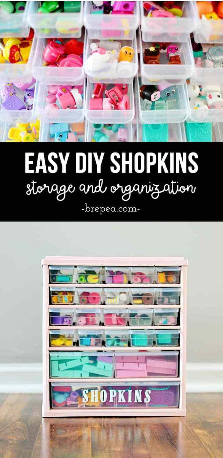 Best ideas about Shopkins Organizer DIY . Save or Pin Easy DIY Shopkins Storage & Organization Tutorial Now.