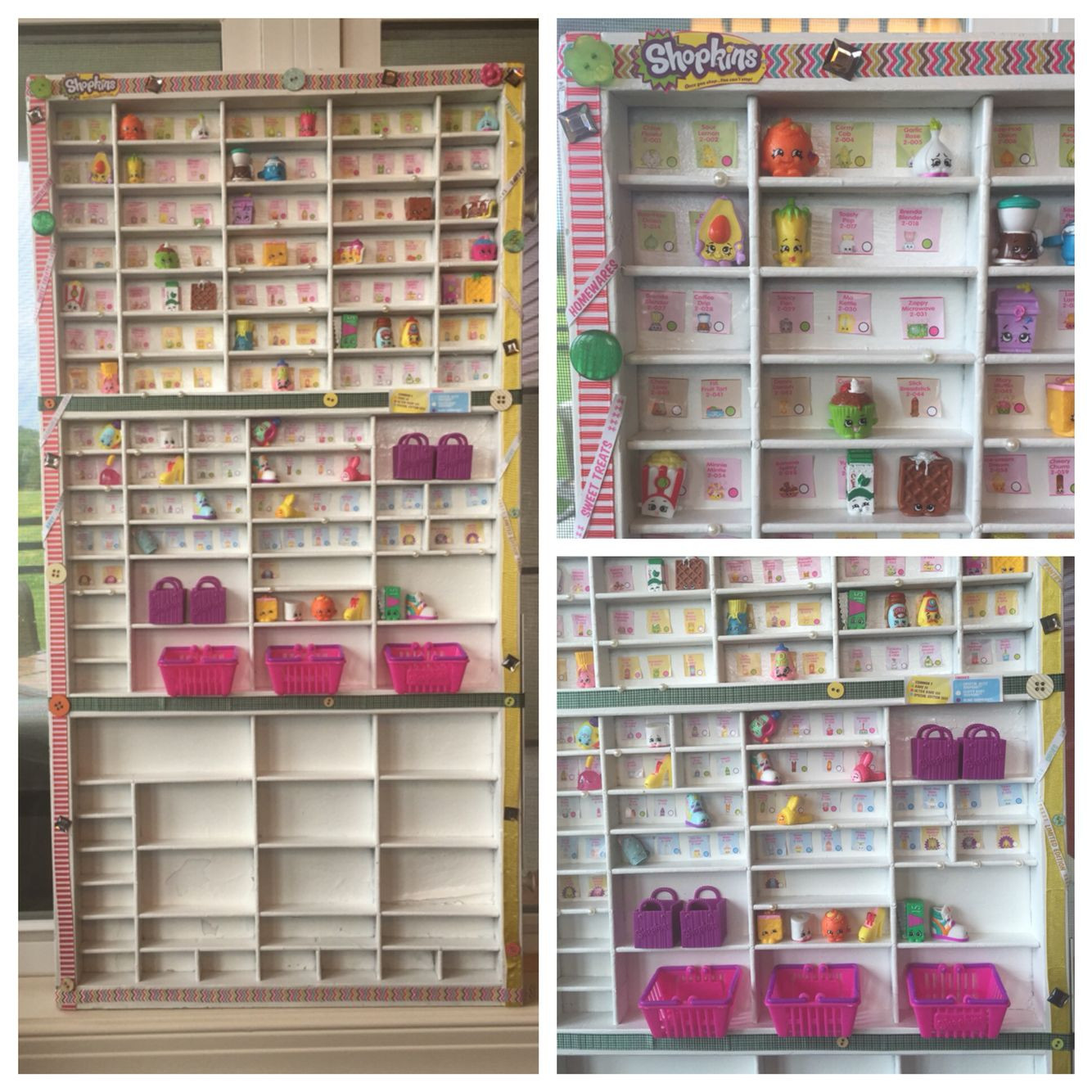 Best ideas about Shopkins Organizer DIY . Save or Pin Shopkins display homemade from and antique drawer Now.