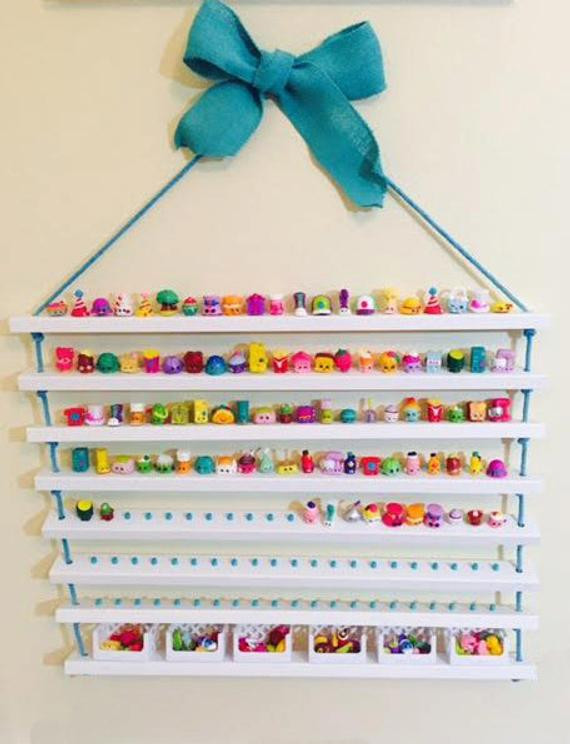 Best ideas about Shopkins Organizer DIY . Save or Pin Shopkins Display Shelf Shopkins Storage by CactusHillCottage Now.