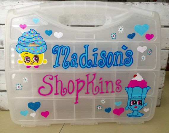 Best ideas about Shopkins Organizer DIY . Save or Pin Cute Shopkins Storage Organizer Toy Case Hand by Now.
