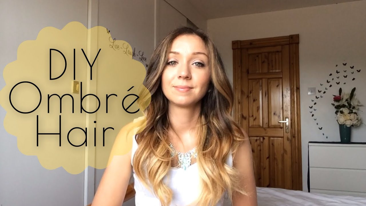 Best ideas about Short Hair Ombre DIY . Save or Pin DIY How to Ombré Hair at Home Now.