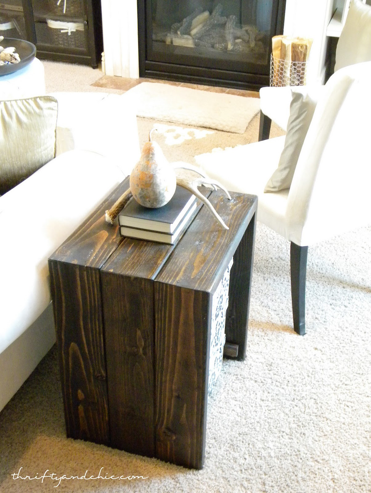 Best ideas about Side Tables DIY . Save or Pin Thrifty and Chic DIY Projects and Home Decor Now.
