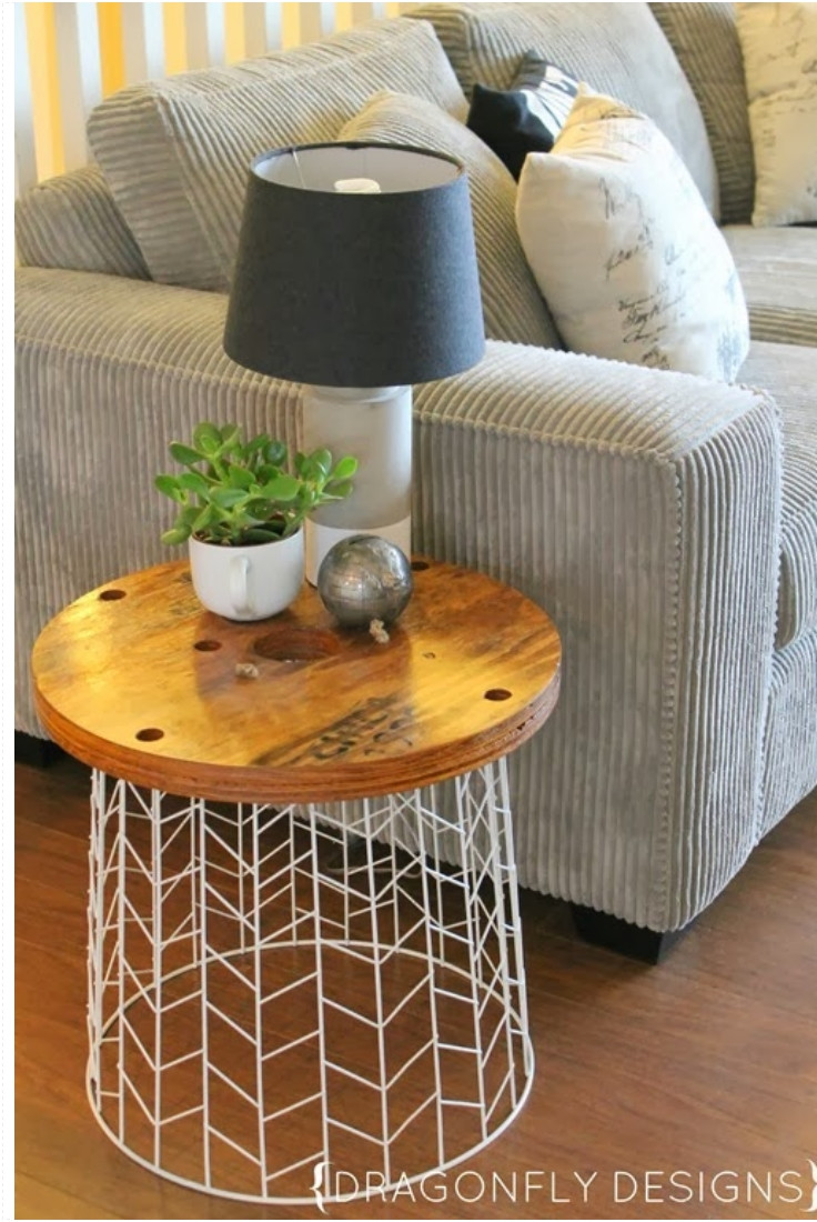 Best ideas about Side Tables DIY . Save or Pin Top 10 Excellent DIY End Tables Top Inspired Now.