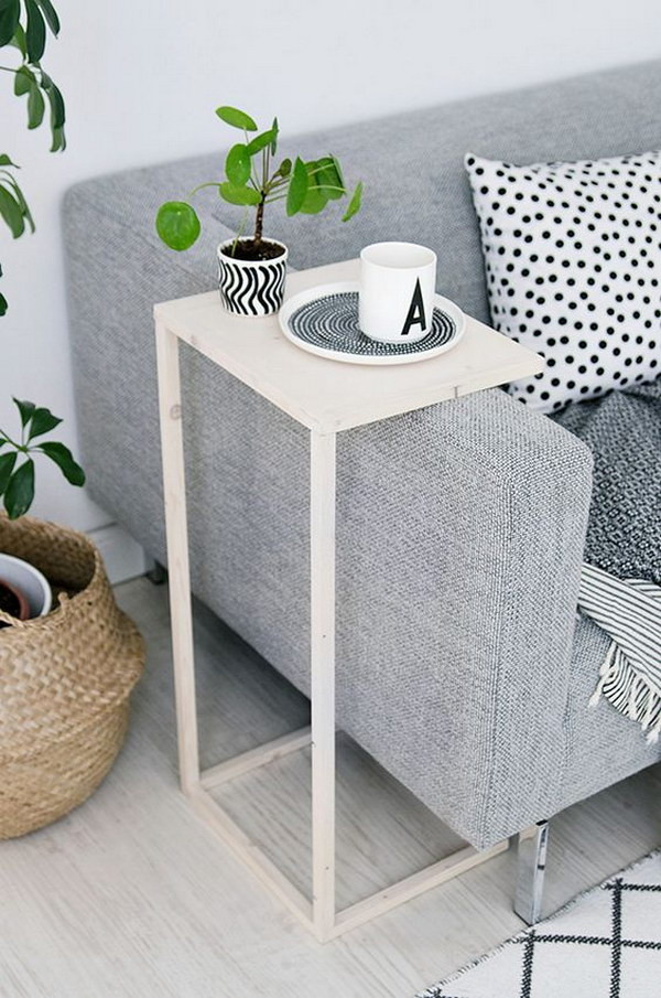 Best ideas about Side Tables DIY . Save or Pin 25 DIY Side Table Ideas With Lots of Tutorials 2017 Now.