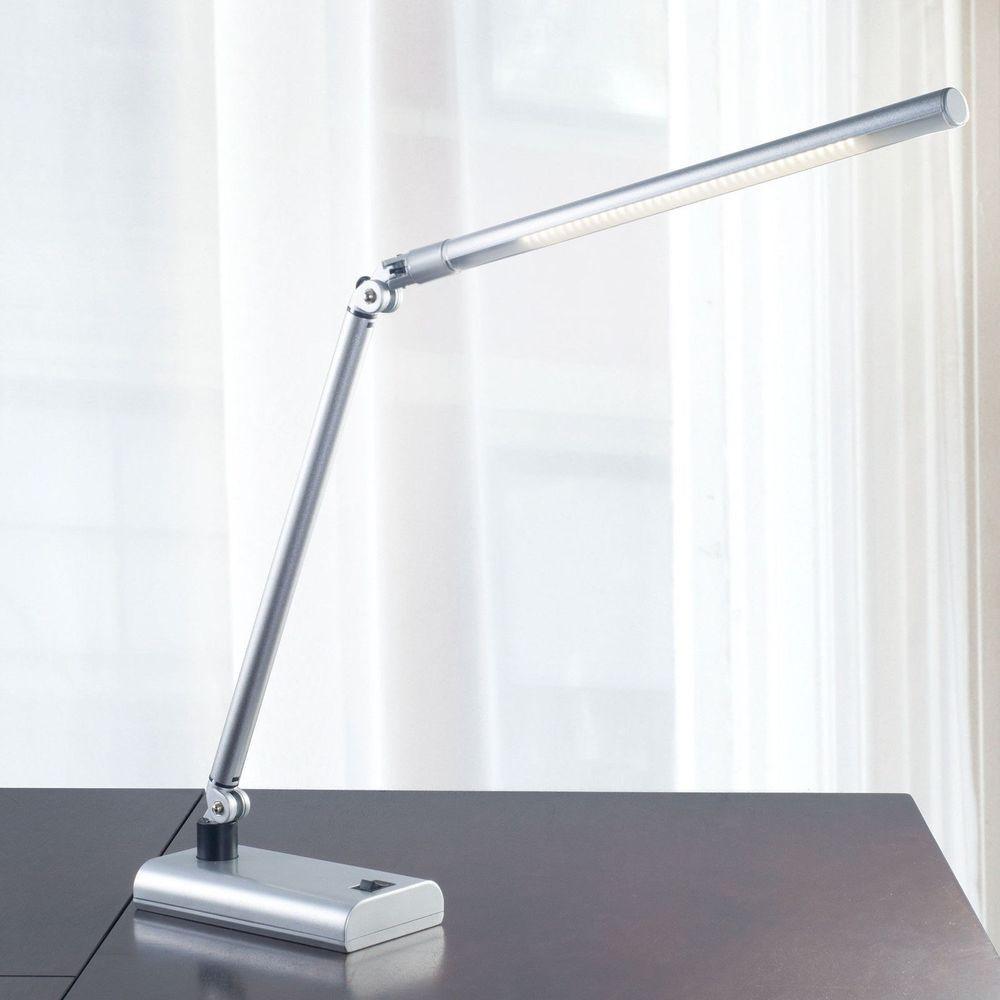 Best ideas about Silver Desk Lamp . Save or Pin Lavish Home 36 LED Stick Desk Lamp Energy Efficient Now.