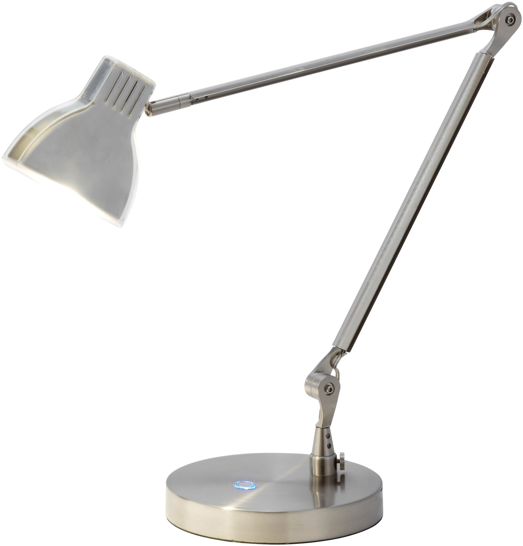 Best ideas about Silver Desk Lamp . Save or Pin Adesso 3181 22 Silver Contemporary LED Architect Desk Lamp Now.