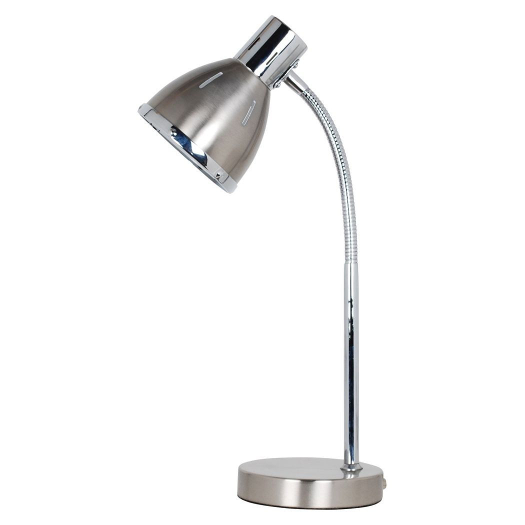 Best ideas about Silver Desk Lamp . Save or Pin Rupert Silver Desk Lamp Study Lights Now.