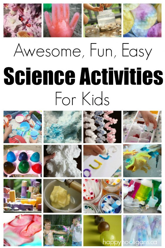 Best ideas about Simple Activities For Kids . Save or Pin Science Activities for Kids Happy Hooligans Now.