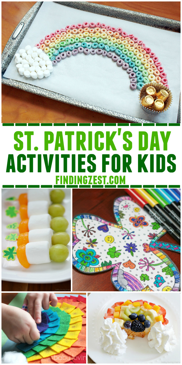 Best ideas about Simple Activities For Kids . Save or Pin St Patrick Day Activities Kids Now.