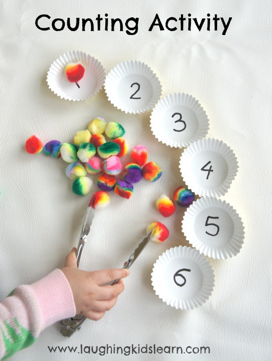 Best ideas about Simple Activities For Kids . Save or Pin Simple counting activity for children Laughing Kids Learn Now.