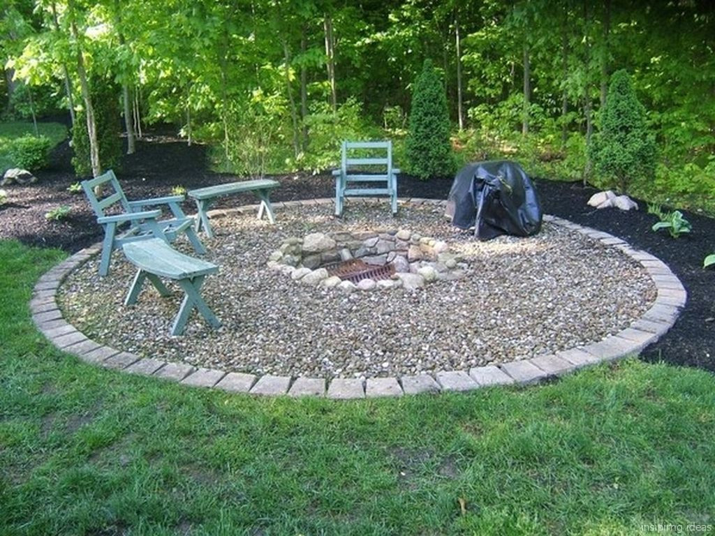 Best ideas about Simple Backyard Fire Pit Ideas . Save or Pin 30 Easy Diy Backyard Fire Pits Design Ideas Trendecora Now.