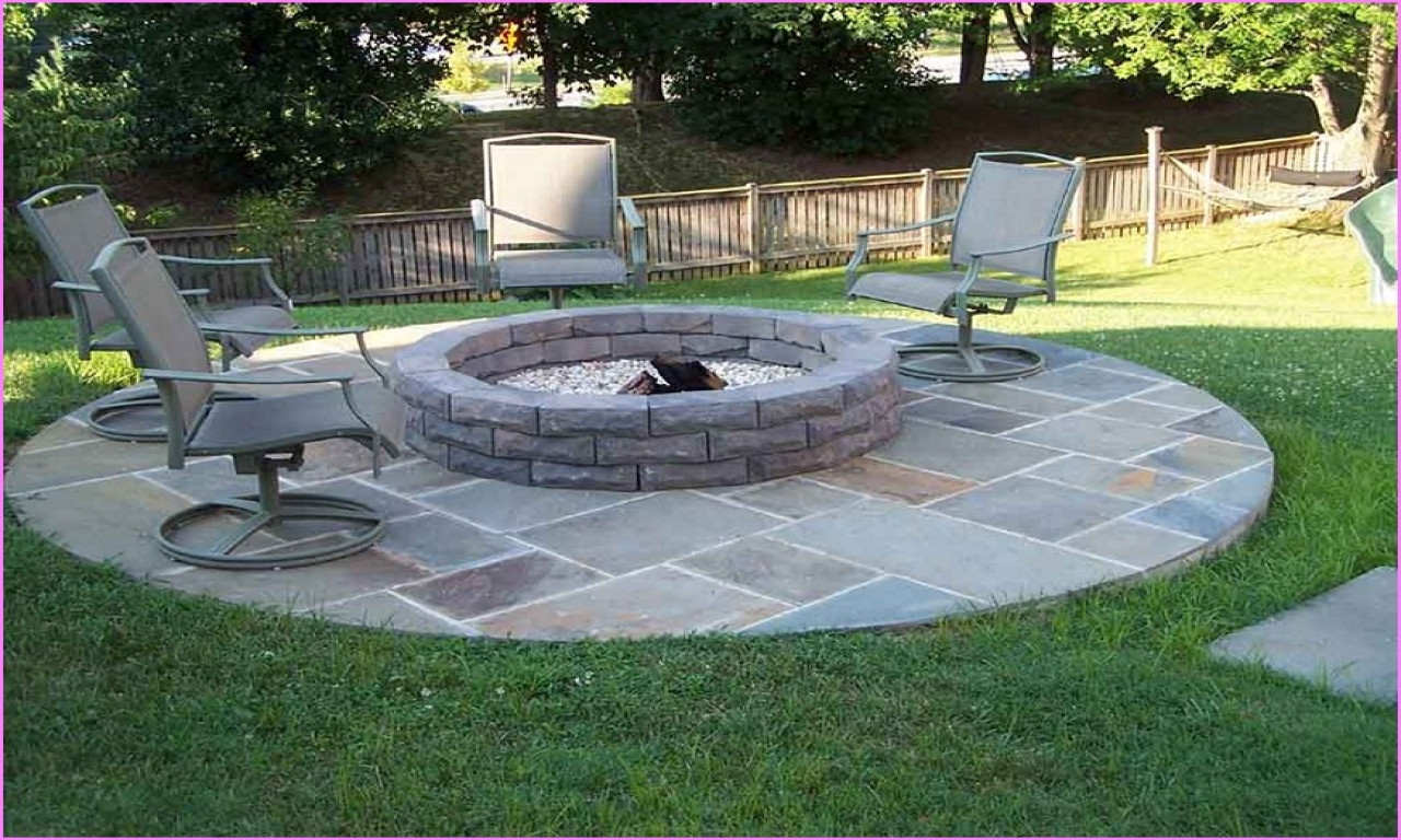 Best ideas about Simple Backyard Fire Pit Ideas . Save or Pin Kitchen wall ideas decor building a simple fire pit Now.