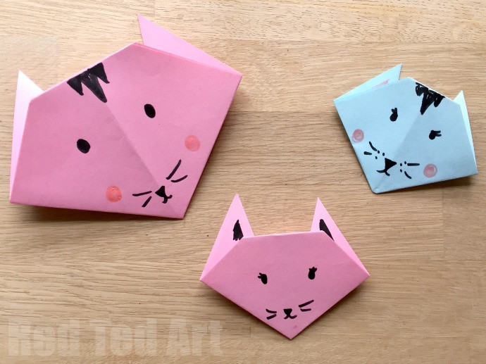Best ideas about Simple Crafts For Kids . Save or Pin 20 Cute and Easy Origami for Kids Easy Peasy and Fun Now.