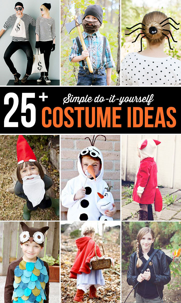 Best ideas about Simple DIY Halloween Costumes . Save or Pin Do it Yourself Katniss Everdeen Costume Now.