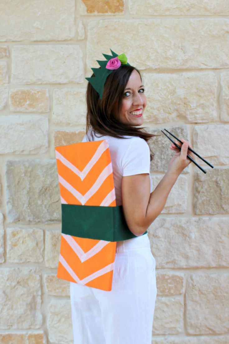 Best ideas about Simple DIY Halloween Costumes . Save or Pin Sashimi Sushi Roll Easy DIY Halloween Costume Fairfield Now.