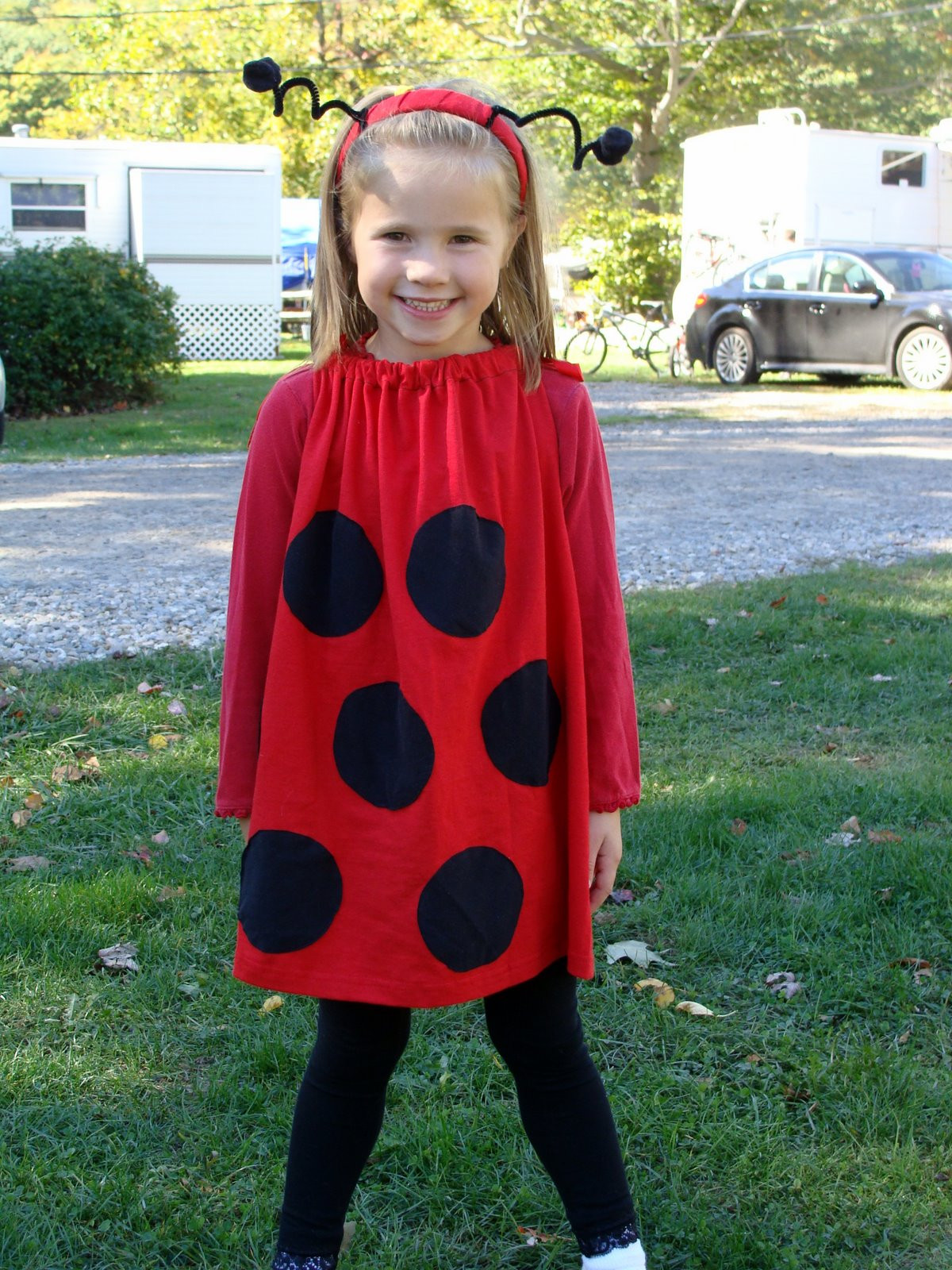 Best ideas about Simple DIY Halloween Costumes . Save or Pin 7 All To her Super Easy LadyBug Costume Now.
