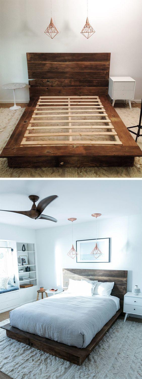 Best ideas about Simple DIY Platform Bed . Save or Pin Best 25 Platform bed plans ideas on Pinterest Now.