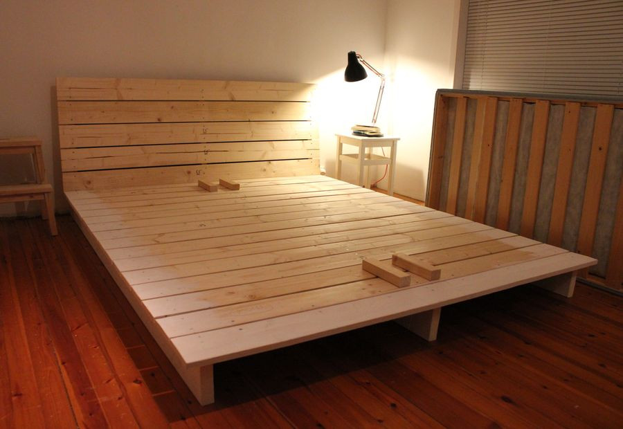 Best ideas about Simple DIY Platform Bed . Save or Pin 15 DIY Platform Beds That Are Easy To Build Now.