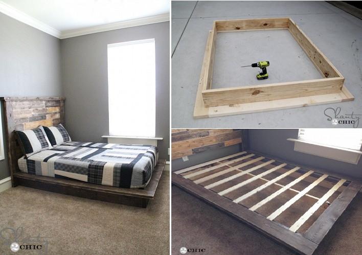 Best ideas about Simple DIY Platform Bed . Save or Pin Easy DIY Platform Bed Now.
