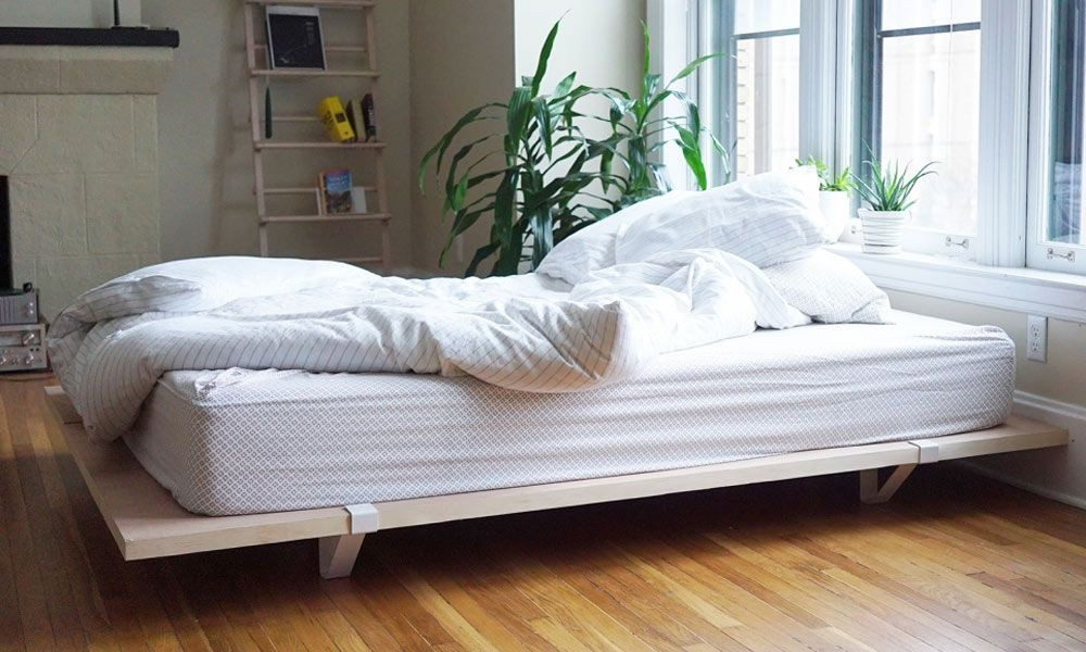 Best ideas about Simple DIY Platform Bed . Save or Pin Floyd DIY Platform Bed Frame Now.