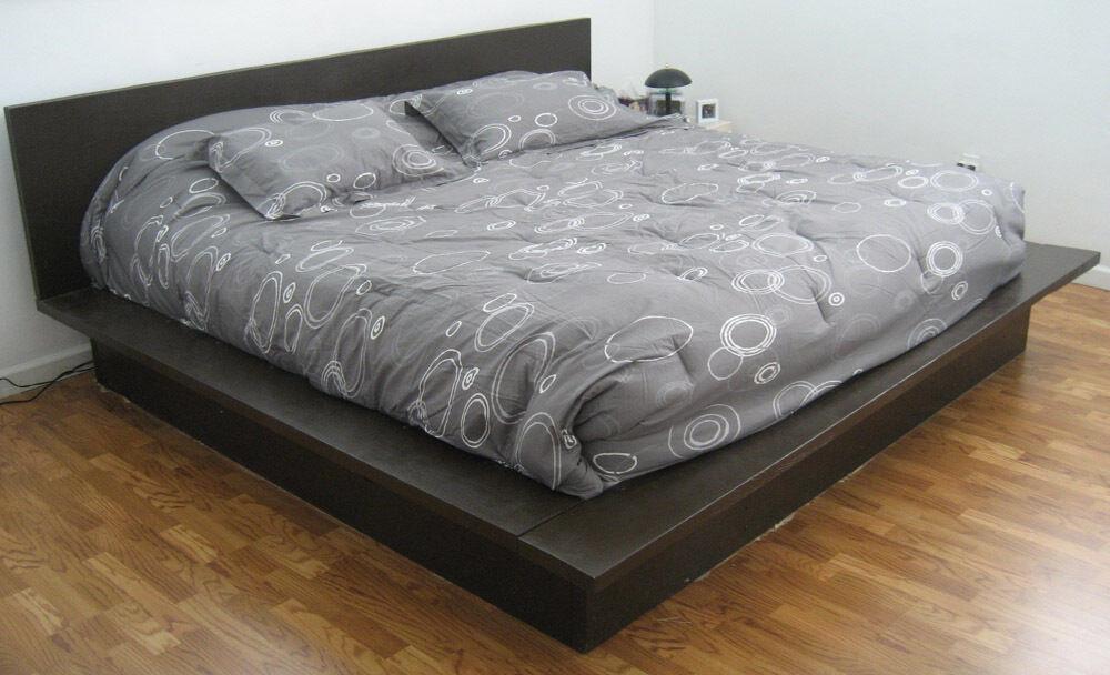Best ideas about Simple DIY Platform Bed . Save or Pin PLATFORM BED WOODWORKING PLANS DIY PEDESTAL KING EASY Now.