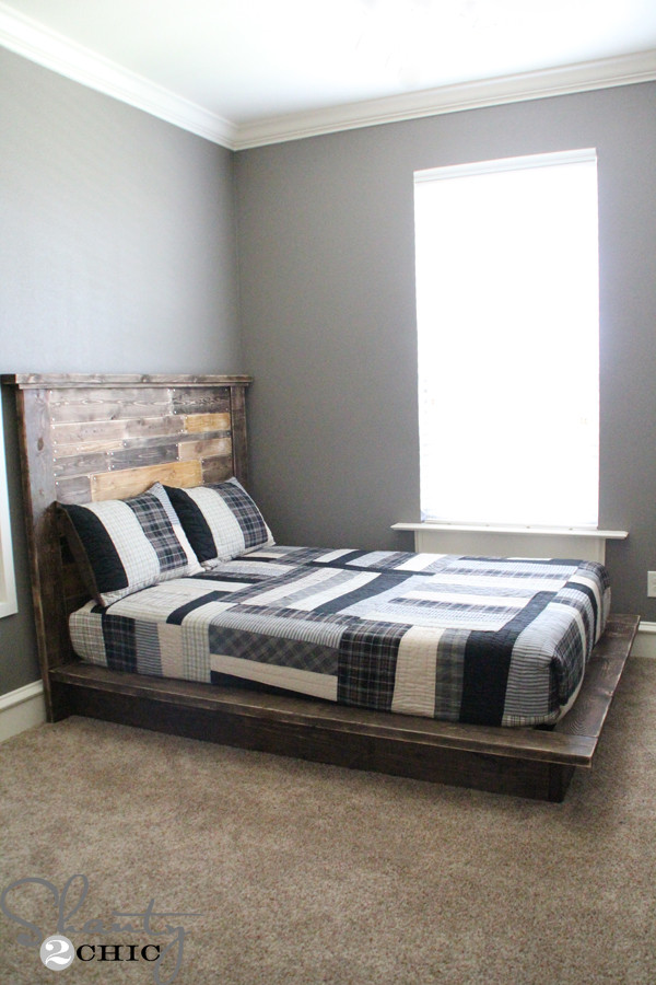 Best ideas about Simple DIY Platform Bed . Save or Pin Easy DIY Platform Bed Shanty 2 Chic Now.