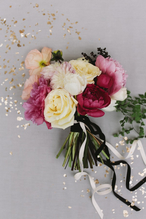Best ideas about Simple Wedding Bouquets DIY . Save or Pin Simple pink bouquet recipe DIY bridal bouquet Now.