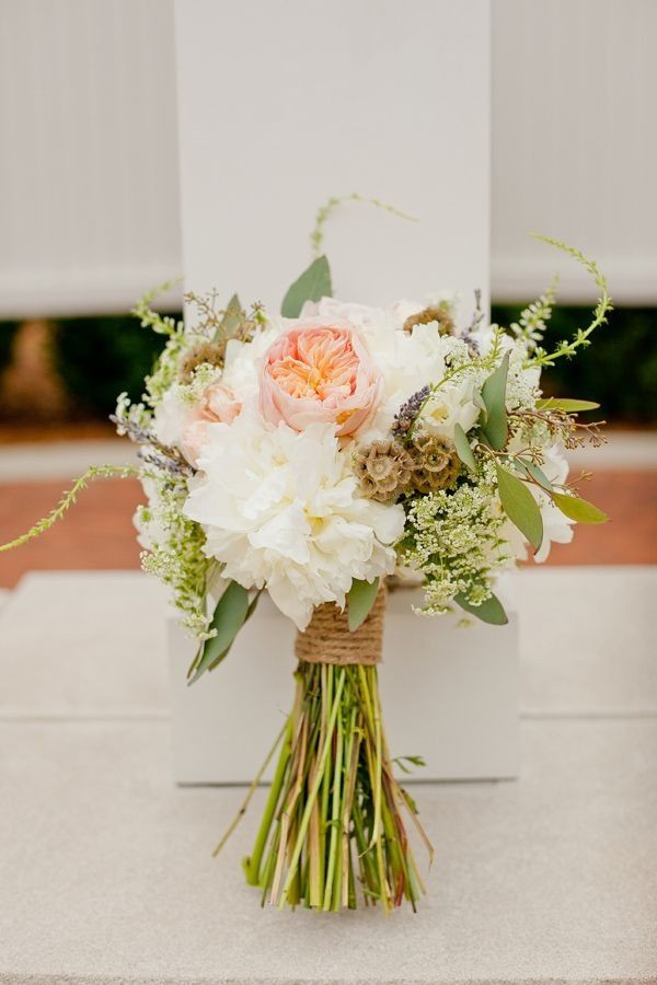 Best ideas about Simple Wedding Bouquets DIY . Save or Pin How to create a rustic bridal bouquet Wedding Now.