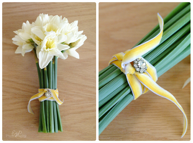 Best ideas about Simple Wedding Bouquets DIY . Save or Pin Black Tulip Event Floral Design Daffodils Now.
