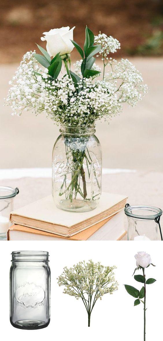 Best ideas about Simple Wedding Centerpieces DIY . Save or Pin Affordable Wedding Centerpieces Original Ideas Tips & DIYs Now.