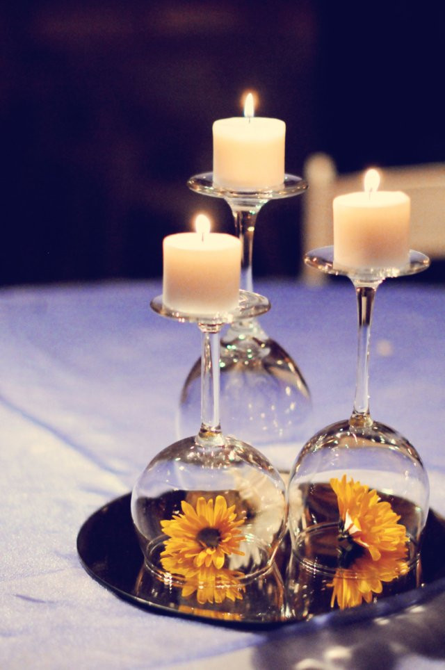 Best ideas about Simple Wedding Centerpieces DIY . Save or Pin Simple Centerpiece Now.