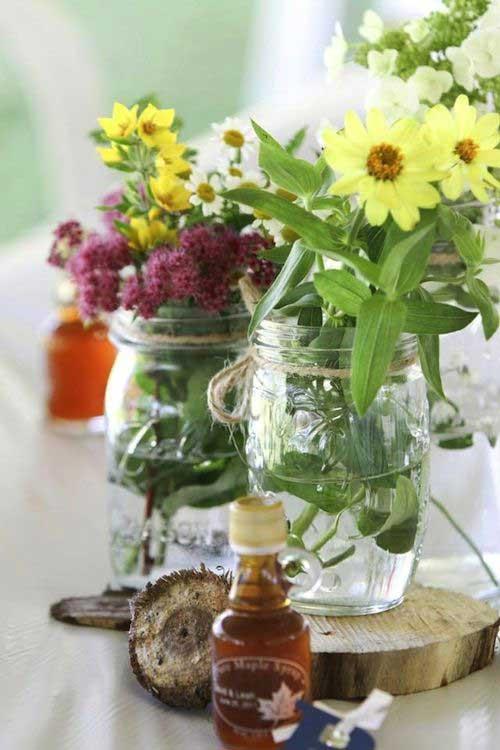Best ideas about Simple Wedding Centerpieces DIY . Save or Pin 15 Amazing DIY Wedding Centerpieces Now.