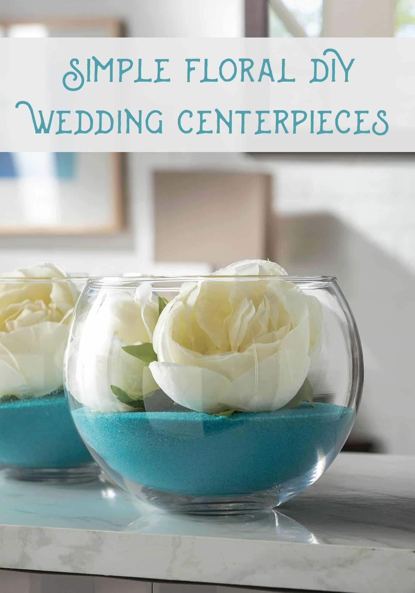 Best ideas about Simple Wedding Centerpieces DIY . Save or Pin Quick Floral DIY Wedding Centerpieces diycandy Now.