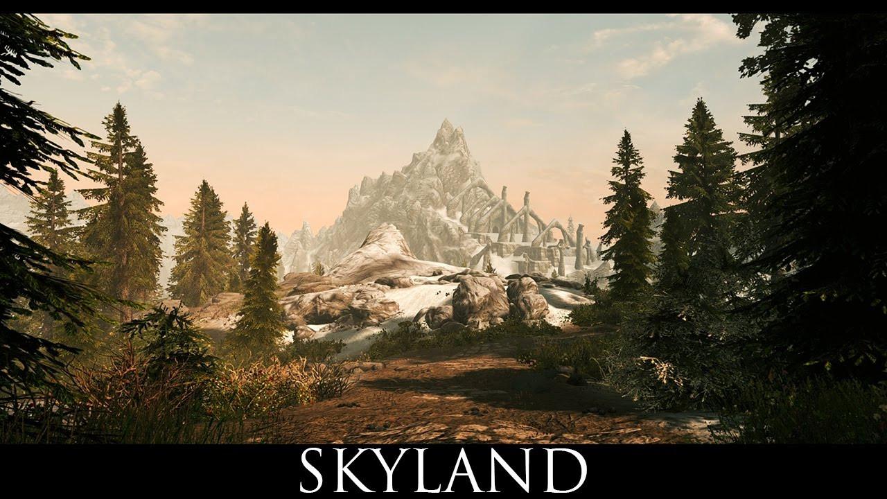 Best ideas about Skyrim Landscape Overhaul . Save or Pin Skyrim SE Mods Skyland A Landscape Texture Overhaul Now.