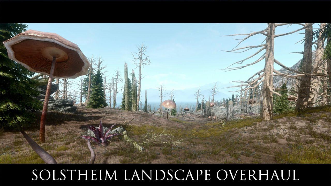 Best ideas about Skyrim Landscape Overhaul . Save or Pin TES V Skyrim Mods Solstheim Landscape Overhaul Now.