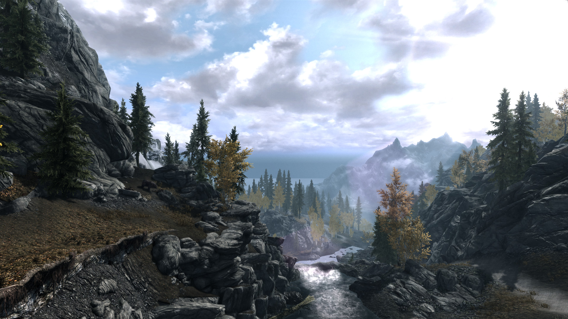 Best ideas about Skyrim Landscape Overhaul . Save or Pin Skyrim Landscapes Now.