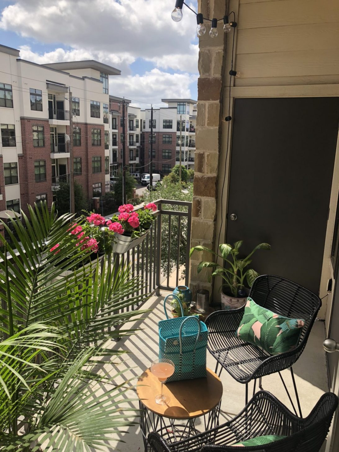 Best ideas about Small Apartment Patio Ideas . Save or Pin Apartment Patio Decor Maribointelligentsolutionsco Fun Now.