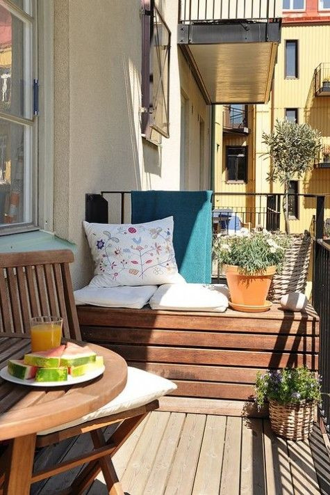 Best ideas about Small Apartment Patio Ideas . Save or Pin Best 20 Small Balcony Design ideas on Pinterest Now.